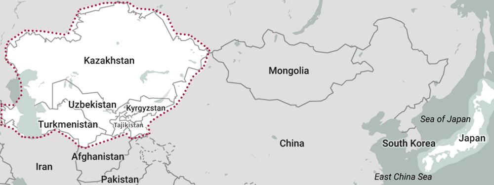 中央アジアについて