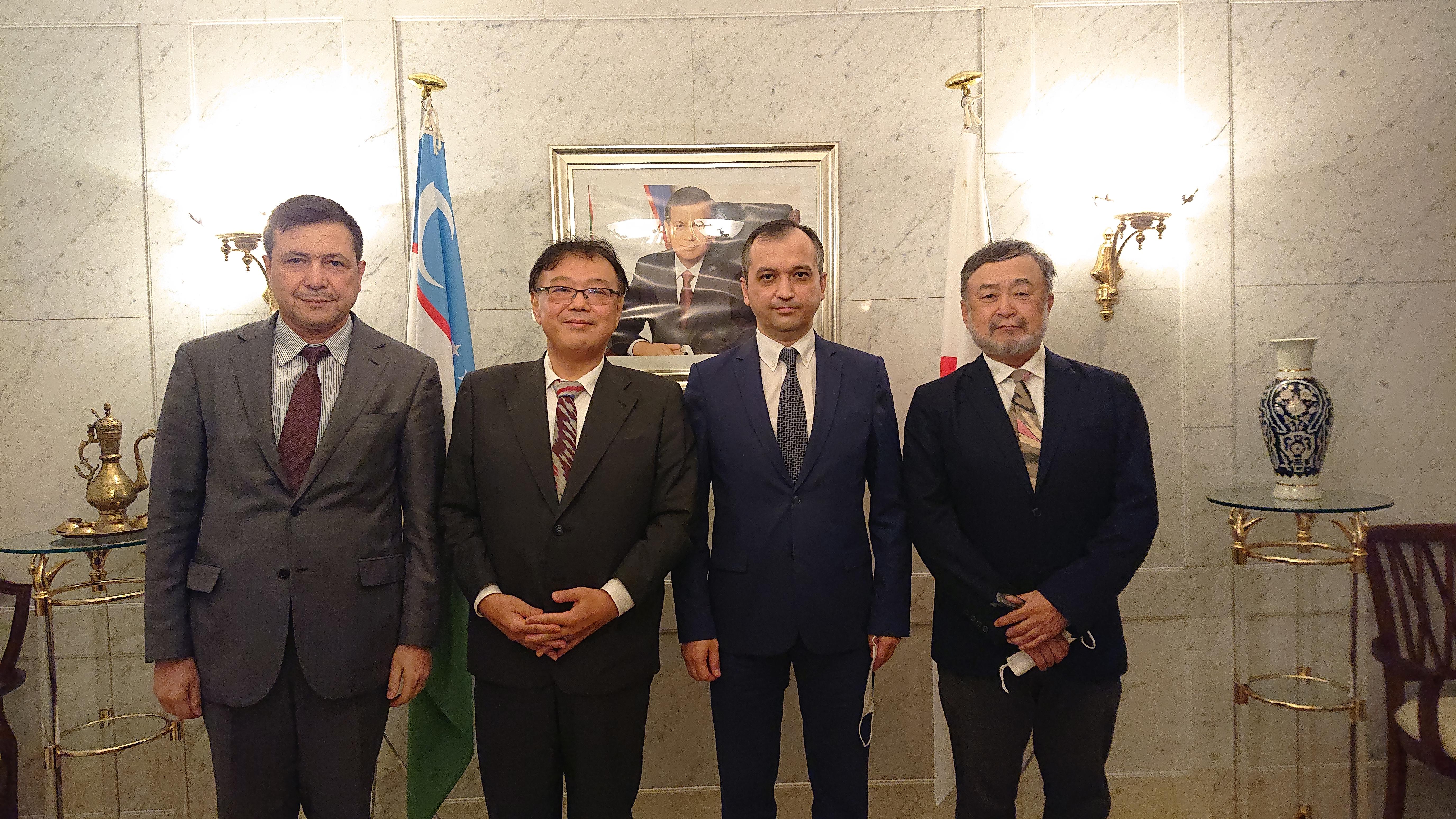 #五十嵐匠 #ウズベキスタン #大使館